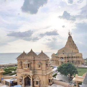 Somnath Temple in morning